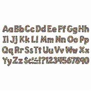 "Trend Enterprises® Playful Combo Packs Ready Uppercase Letter, 4"", Stained Glass"