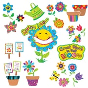 Creative Teaching Press Bulletin Board Set, Spring Garden