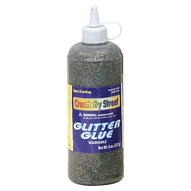 Chenille Kraft Glitter Glue 4 oz., 12/Bundle Multicolor