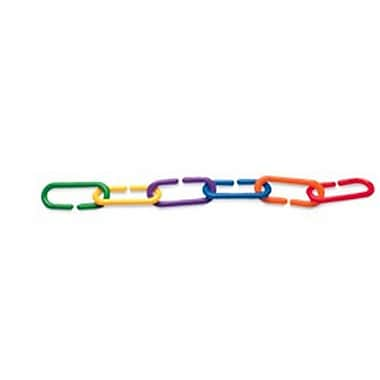 Learning Resources® Link 'N' Learn® Rainbow Links In A Bucket, Set of 1000
