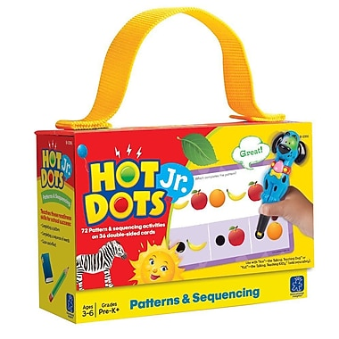 Educational Insights® Hot Dots® Jr. Card Set, Patterns and Sequencing