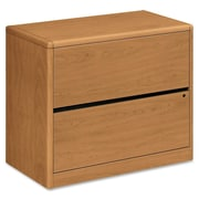 HON® 10700 Series 2-Drawer Lateral File, Harvest