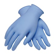Ambitex® Textured Powder-Free Disposable Nitrile Gloves, Light Blue, Extra-Large, 1,000/Carton