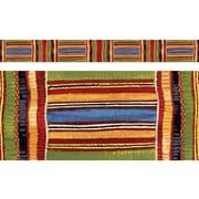 "TREND T-85092 35.75' x 2.75"" Straight Patterns Kente Cloth Bolder Border, Multicolor"