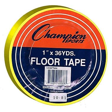 Champion Sports® Floor Marking Tape, Yellow