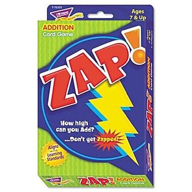 Trend Enterprises® Zap! Card Game, Addition