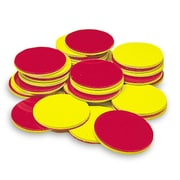Learning Advantage Magnetic Two-Color Counters Manipulatives Set, Set of 200