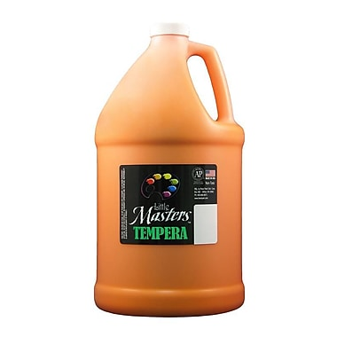 Little Masters Non-toxic 128 oz. Tempera Paint, Orange (RPC204715)