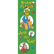 Eureka® Dr. Seuss The Grinch Bookmark, Grades preschool - 6th