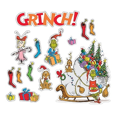 Eureka® Bulletin Board Set, Dr. Seuss The Grinch