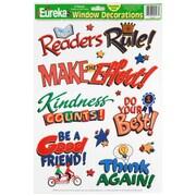 Eureka® Window Cling, Whats The Good Word