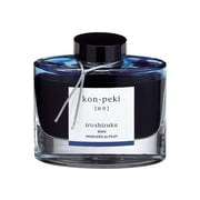 Pilot Iroshizuku Fountain Pen Bottled Ink, Kon-Peki Turquoise Blue (69212)