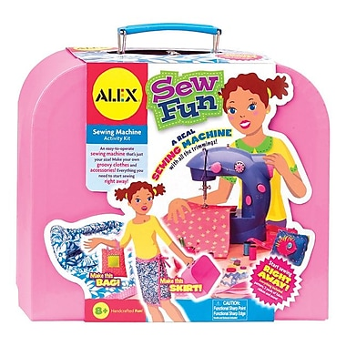 Alex Toys Sew Fun Sewing Machine Kit-