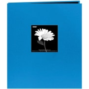 "Pioneer Fabric Frame Scrapbook, 8.5"" x 11"", Sky Blue"