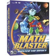 Knowledge Adventure Math Blaster - Master The Basics for Windows (1-User) [Boxed]
