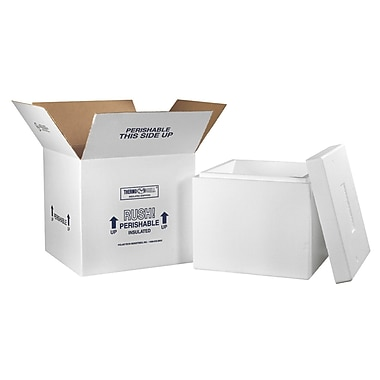 16.75''x16.75''x15'' Insulated Shipping Box,200#, 1/Case (249C)