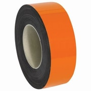 "Staples 50' x 2"" Warehouse Label Magnetic Roll, Orange (LH128)"