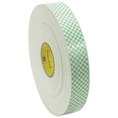 3M 4016 Double Sided Foam Tape, 3/4