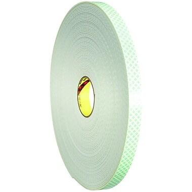 3M 4008 Double Sided Foam Tape, 1