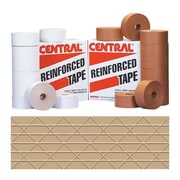 Central Kraft 235 Reinforced Tape, 72 mm x 450', 10/Case