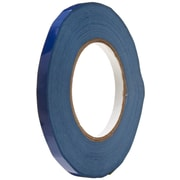 "Tape Logic 3/8"" x 180 yds. Dark Blue Bag Tape, 16/Case"