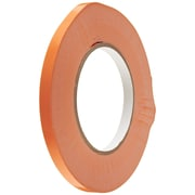 "Tape Logic 3/8"" x 180 yds. Orange Bag Tape, 16/Case"