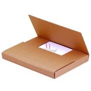 "11 1/8""x8 5/8""x1"" Partners Brand Easy-Fold Mailers, 50/Bundle (M1181K)"