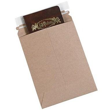 Staples® Utility Flat Mailer, Kraft, 12-1/2