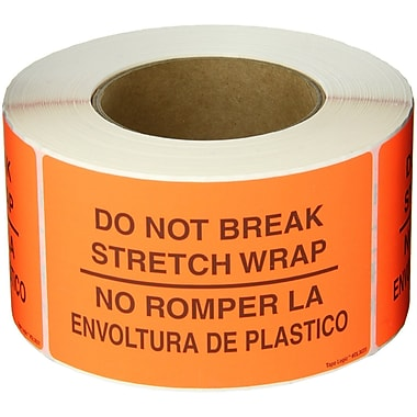 Tape Logic® Bilingual Labels,
