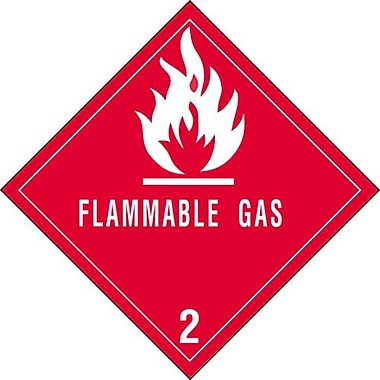 Tape Logic Flammable Gas - 2