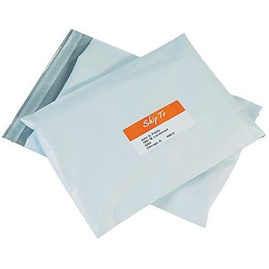 Staples® Poly Mailers, 24