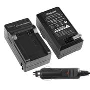 Insten® BSAMBP70ACS1 Compact Battery Charger Set For Samsung BP-70A/BP-85A