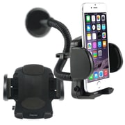Insten® Windshield Mount Cellphone and PDA Holder, Black