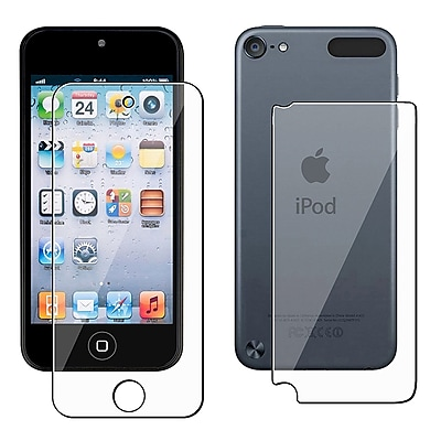 Insten Front Back Reusable Screen Protector For Apple iPod Touch 5th Generation
