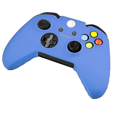 Insten® Silicone Skin Case For Microsoft Xbox One Controller, Blue