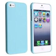 Insten® Hard Plastic Snap-in Case For Apple iPhone 5/5S, Blue Ice Cream