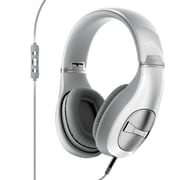 Klipsch STATUS Over-Ear Headphones, Pearl White