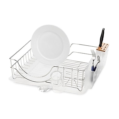 simplehuman Wire Frame Dishrack, Stainless Steel