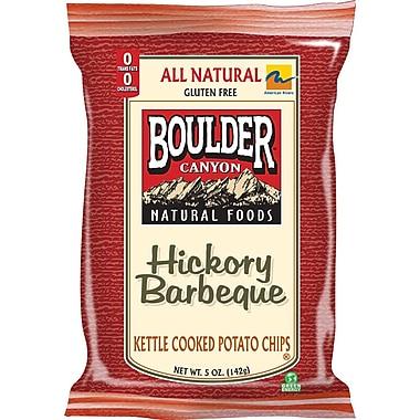 Boulder Canyon Chips Hickory BBQ Potato Chips 12/Pack 5 Oz.