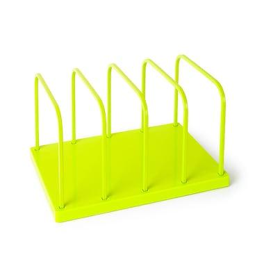 Poppin Lime Green File Sorter