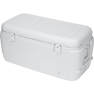 Igloo® Quick & Cool™ Ice Chest, 100 Quart, Marine White