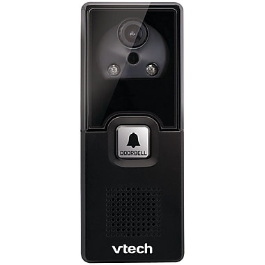 VTech IS741 Accessory Audio/Video Doorbell Camera, Black