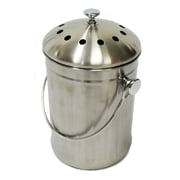 Good Ideas Kitchen Accents Compost Pail, Brushed Steel