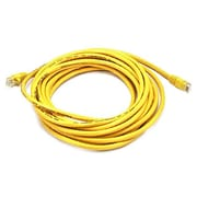 Monoprice® 20' 24AWG Cat5e UTP Ethernet Network Cable, Yellow