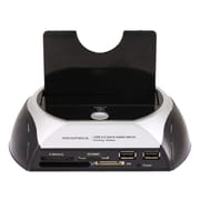 Monoprice® SATA HDD USB 3.0 Docking Station With Card Reader & 2 Port USB Hub