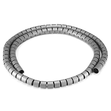 Monoprice® 15 mm x 1.5 m Spiral Wrapping Band, Gray