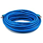 Monoprice® 75' 24AWG Cat6a STP Ethernet Network Cable, Blue
