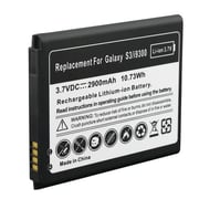 Insten® EB615268VU 3.7 VDC Rechargeable Li-ion Battery For Samsung Galaxy S3 i9300, Black