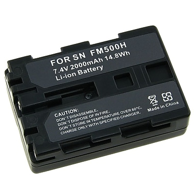 Insten® 259649 2-Piece DV Battery Bundle For Sony NP-FM500H/Sony Alpha A850