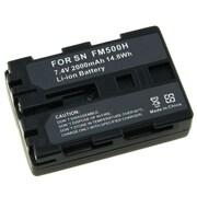 Insten® 259649 2-Piece DV Battery Bundle For Sony NP-FM500H/Sony Alpha A850